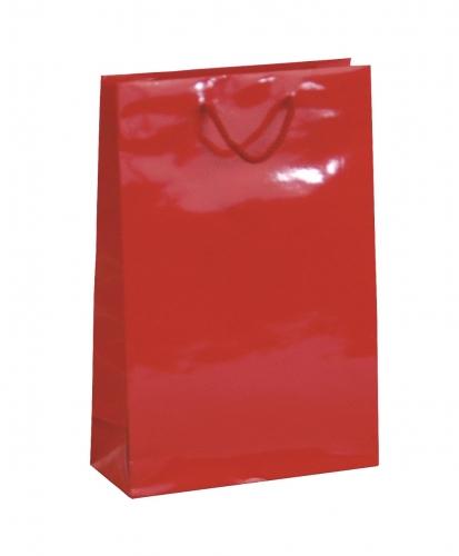 Kordel-Tragetasche rot