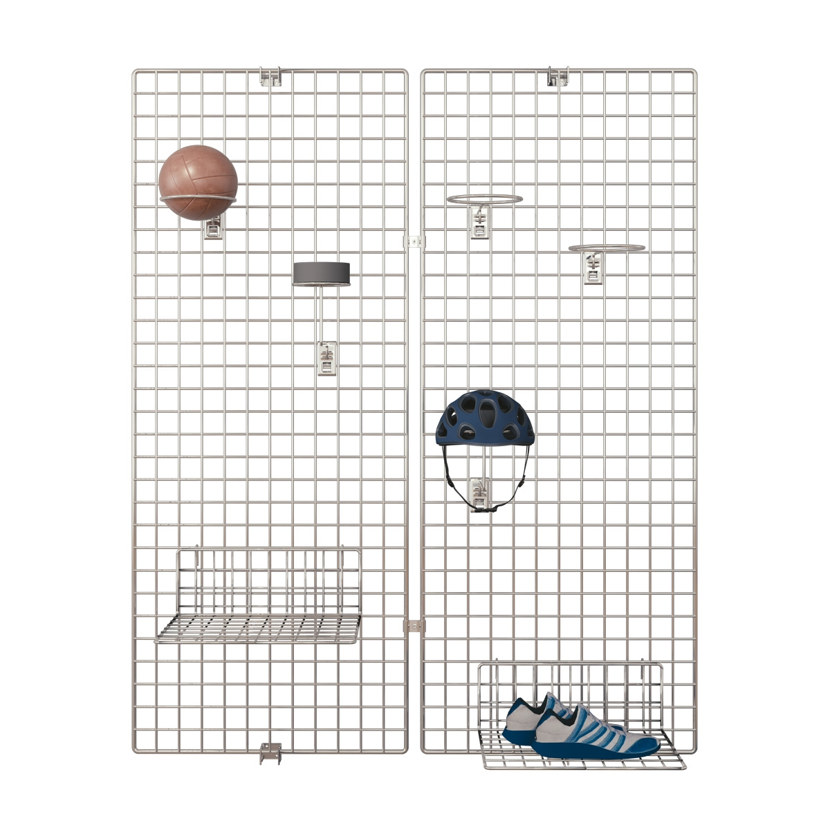 Deko Wandgitter 2er-Set: 80 x 200 cm