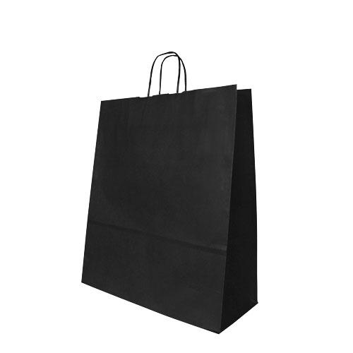 Papier-Tragetüte schwarz