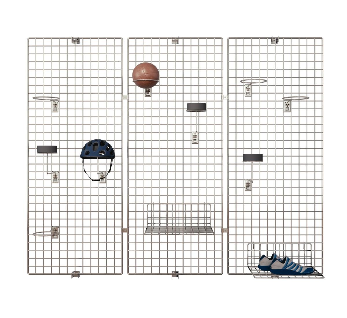 Deko Wandgitter 3er-Set: 40 x 150 cm