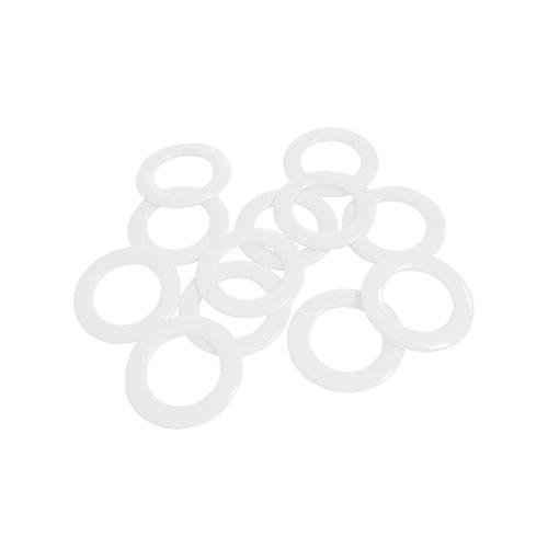 Kollektionsringe weiß