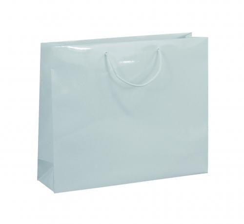 Kordeltragetasche weiß