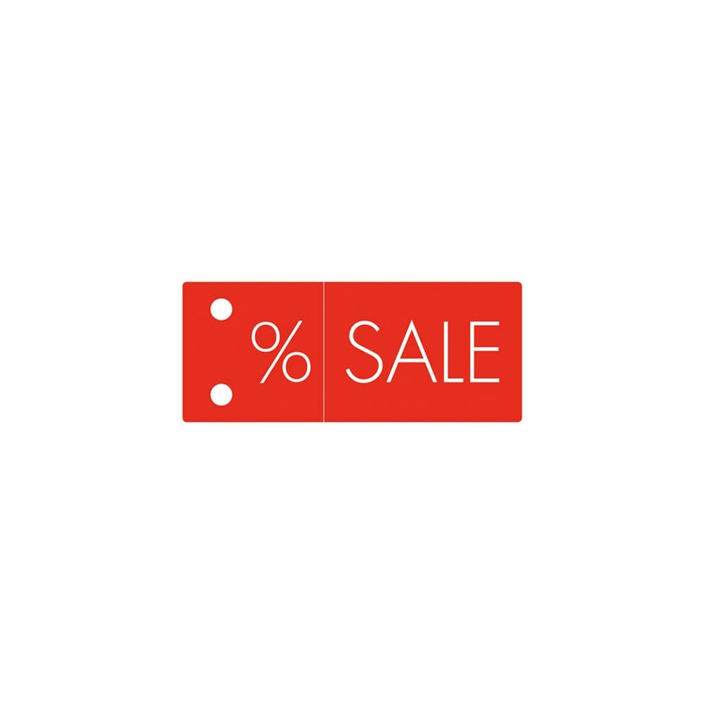 Kleiderbügel-Schild %-Sale