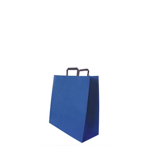 Papiertüte blau