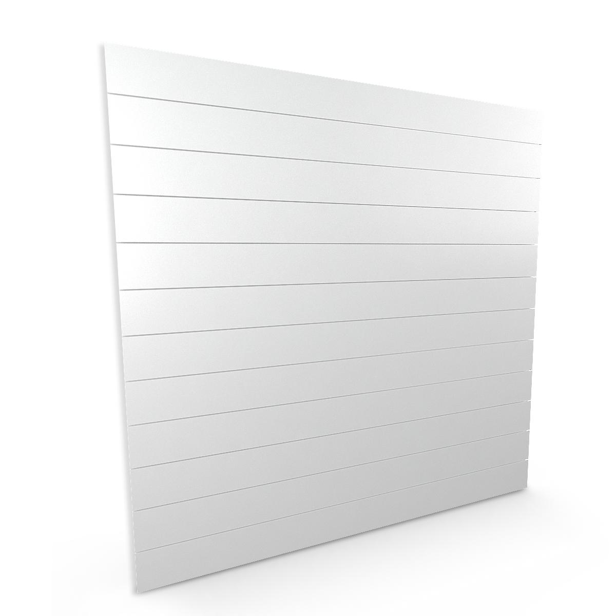 Spacewall Lamellenwand Slatwall weiß