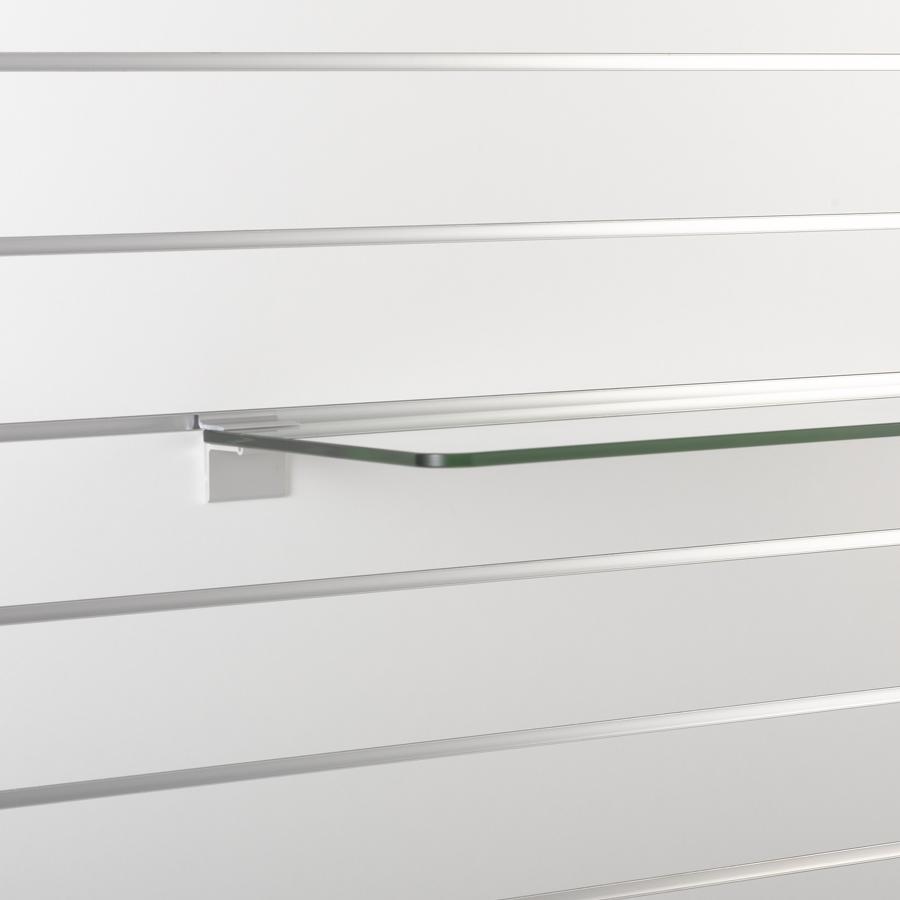 Glasplattenträger klemmend