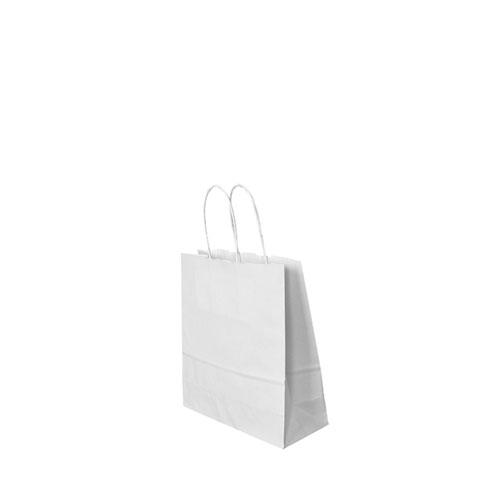 Papier-Tragetaschen weiß