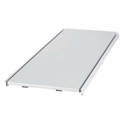 Stahl Regalboden 125 cm, 37 cm