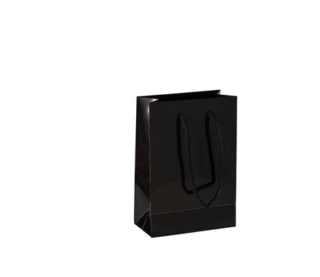 Kordeltragetasche Exlusive schwarz