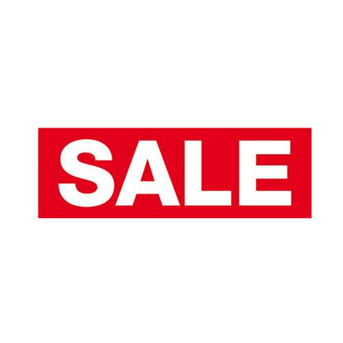 "Aufkleber 'Sale"" groß"