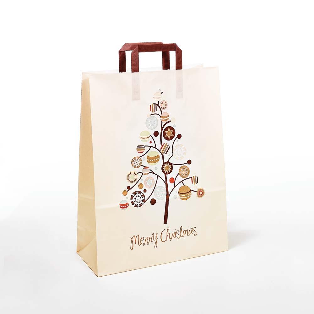 Papiertasche Merry Christmas