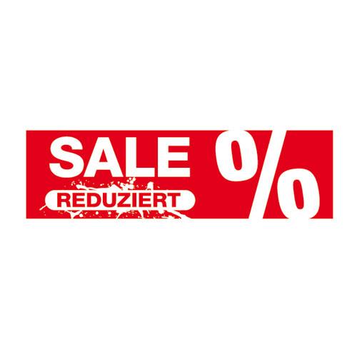 Aufkleber 'Sale reduziert'