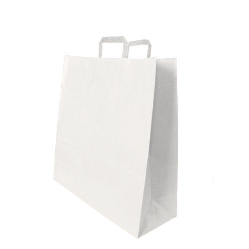 Papier Tragetaschen weiß