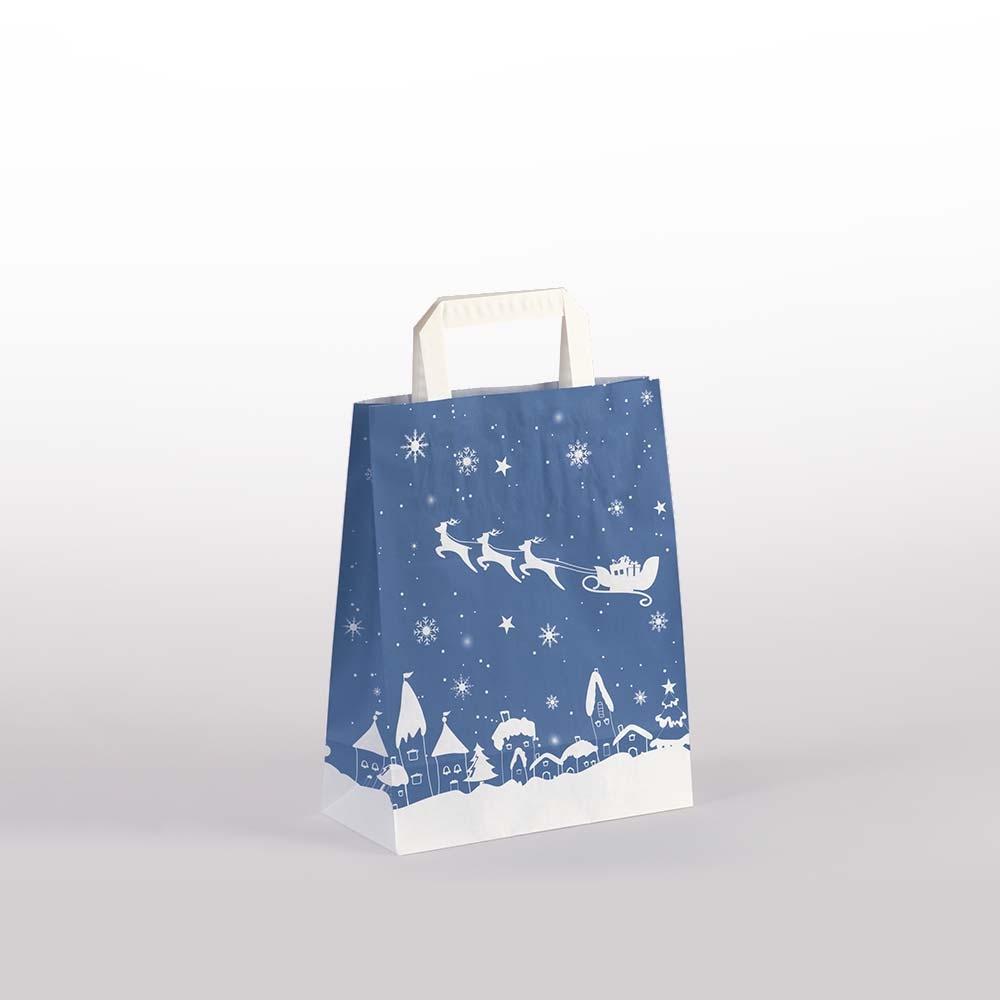 Papiertasche Weihnachten