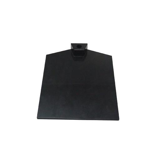 Fußplatte für Plakathalter schwarz