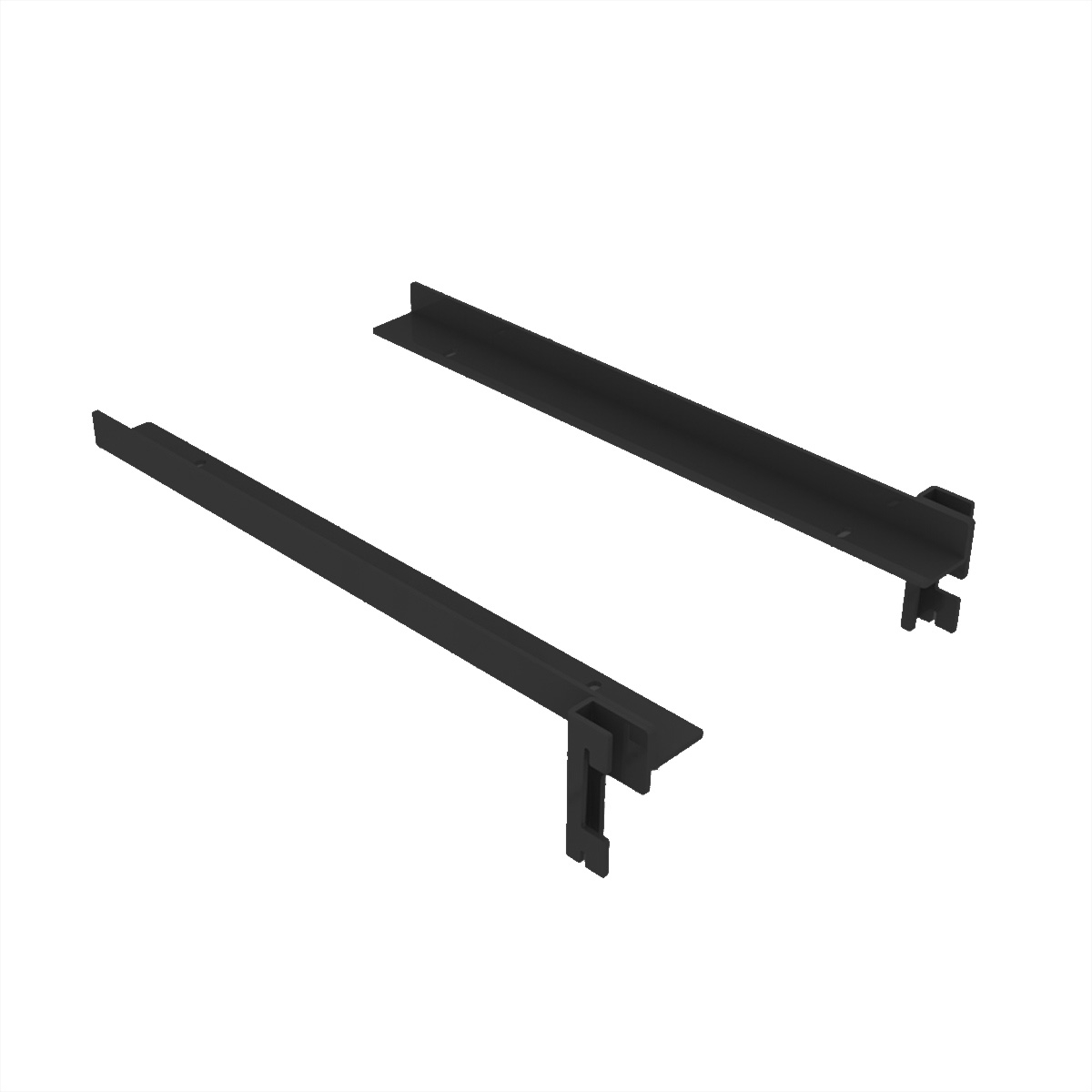 Holzbodenträger für Gondel freistehend schwarz