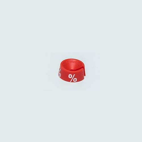 Mark Bric Größenreiter mit Aufdruck, rot %