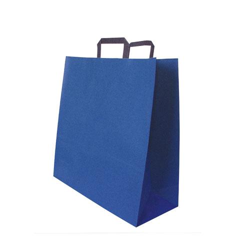Papiertaschen blau