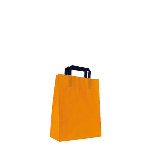 Papiertaschen orange