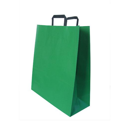 Papier-Tragetasche grün