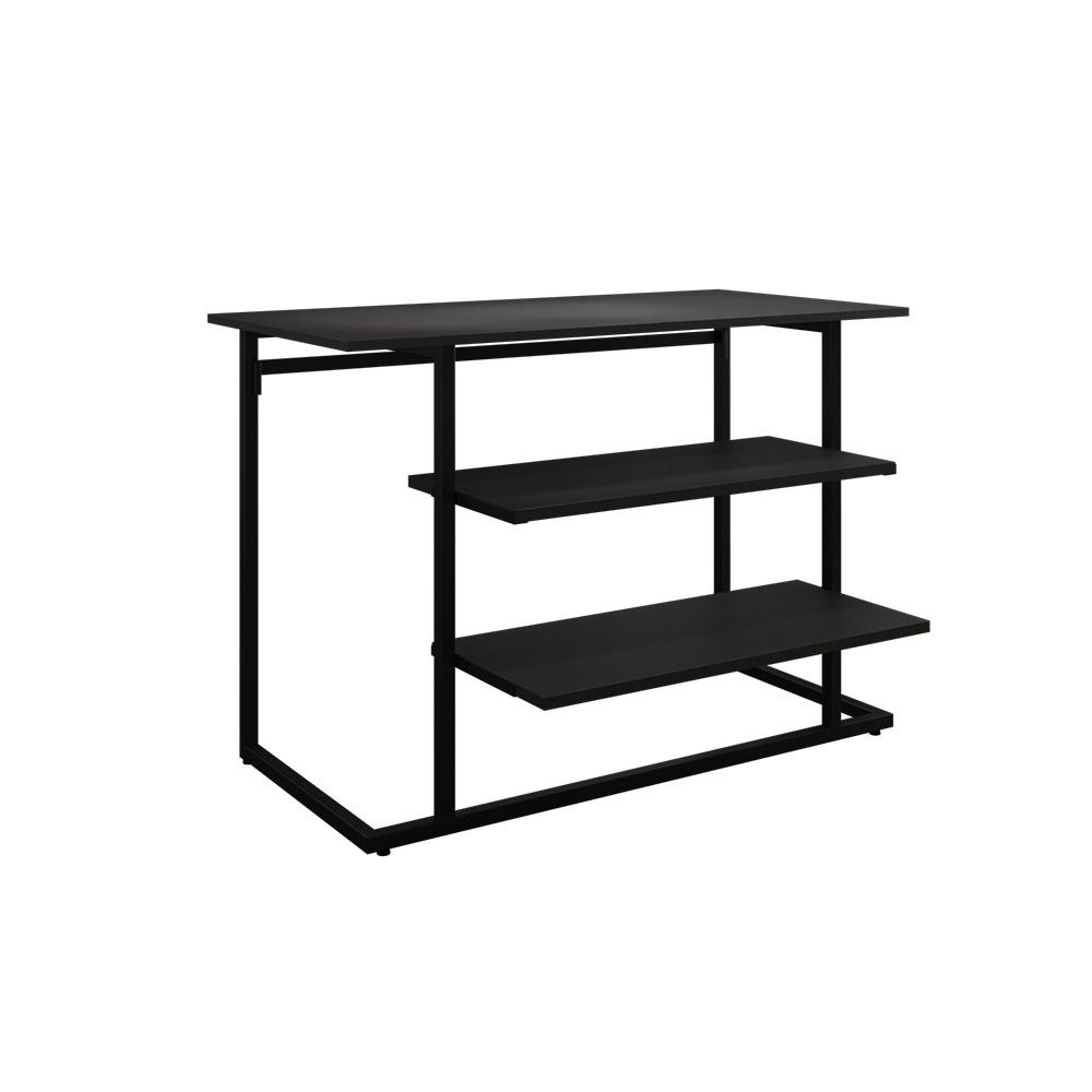 Mittelraumtisch-Set schwarz/schwarz