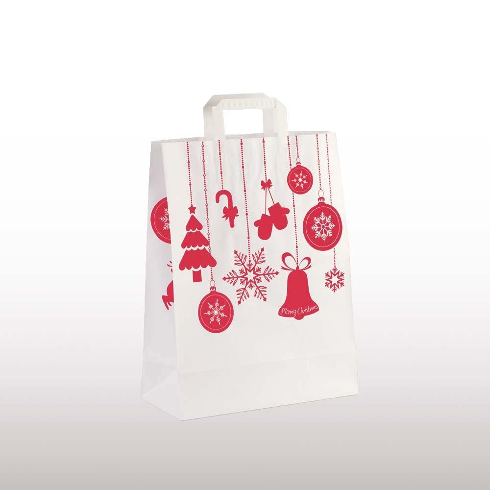 Papiertragetasche Weihnachtsschmuck