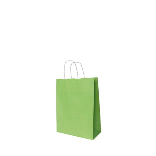 Papier-Tragetüte hellgrün