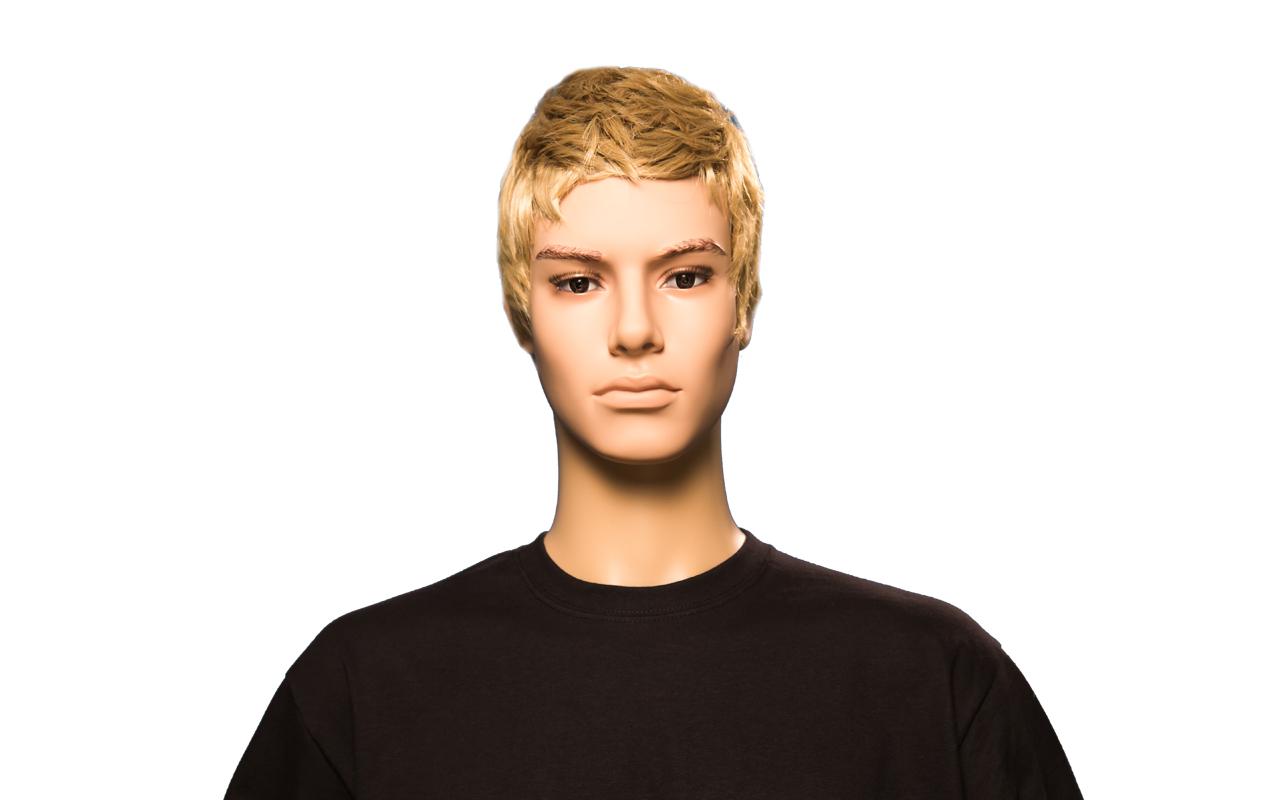 Herren Perücke blond