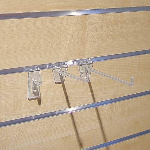 Einfachhaken transparent