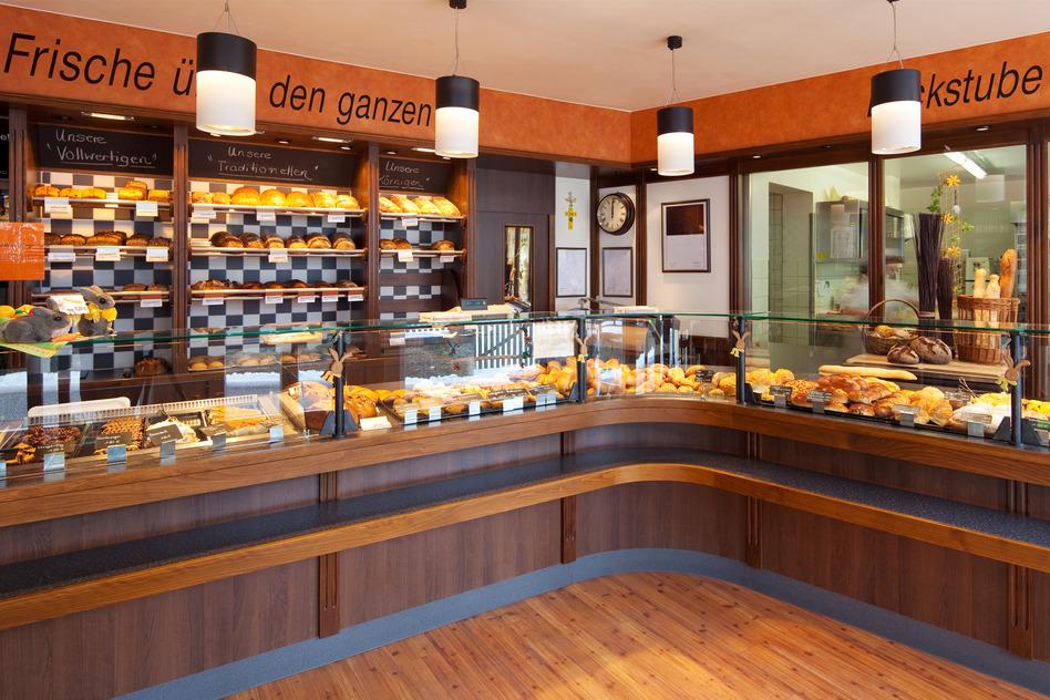 Bäckerei Ladeneinrichtung