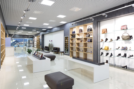 Fashion show mall shoe stores