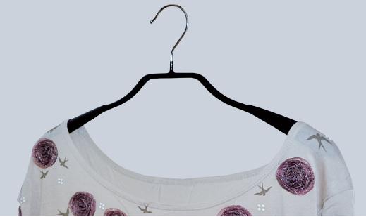 Kleiderbügel antirutsch