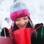 Wintermode optimal präsentieren