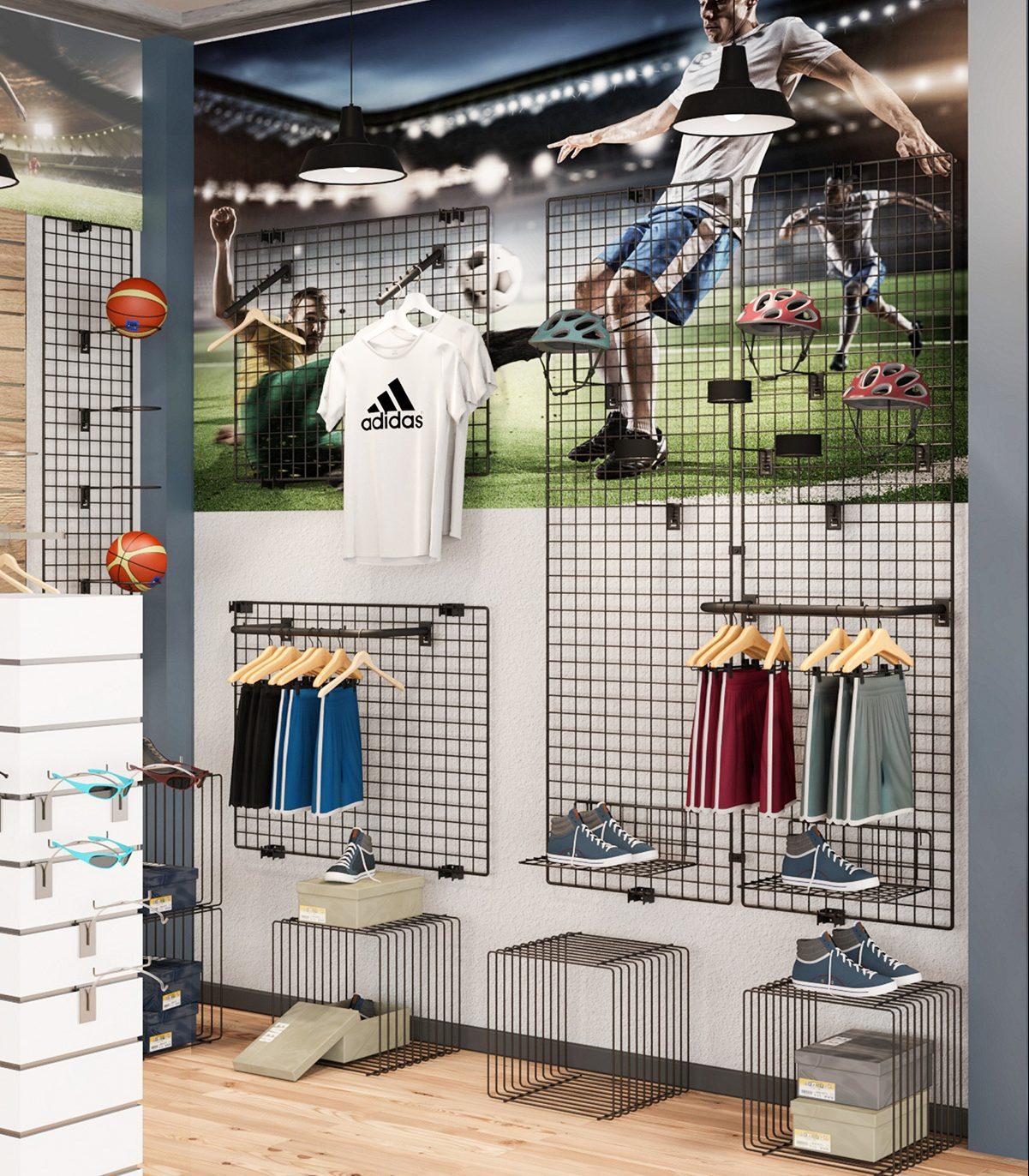 Brilliant Schaufensterdekoration Beispiele Beste Wahl Ladeneinrichtungselemente Passend Sportlich Gestalten