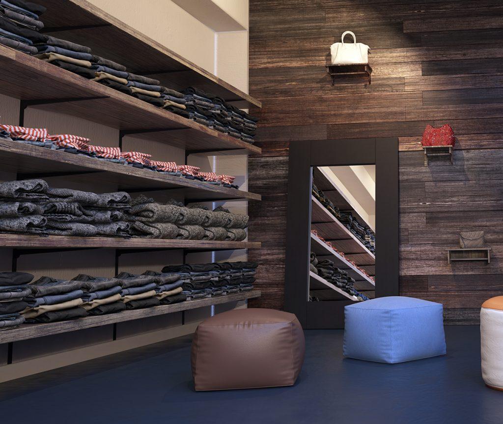 Bildquelle Plusoneshutterstockcom: Regalschienen Für Die Ladeneinrichtung Im Einzelhandel