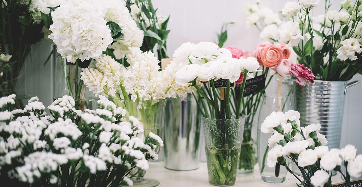 Ladeneinrichtung Blumengeschaeft
