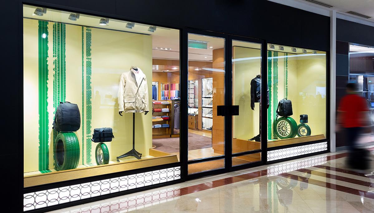 Schaufensterdeko Einzelhandel