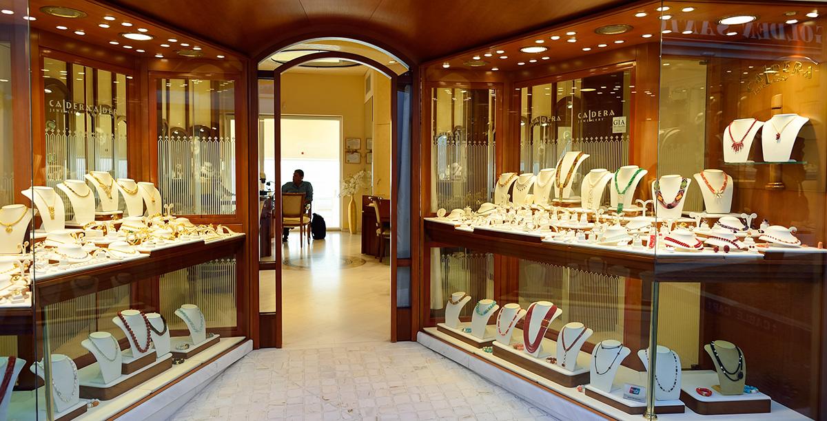 Schaufenster Schmuck Juwelier