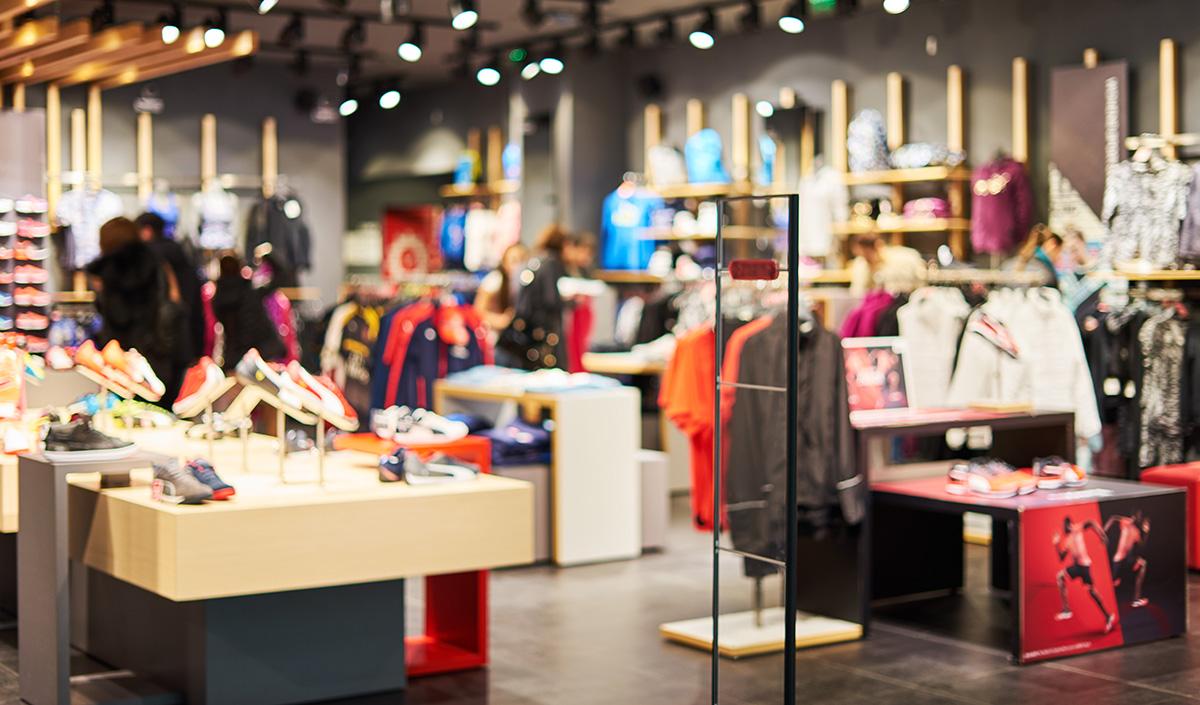 Ladeneinrichtung Textilgeschäft