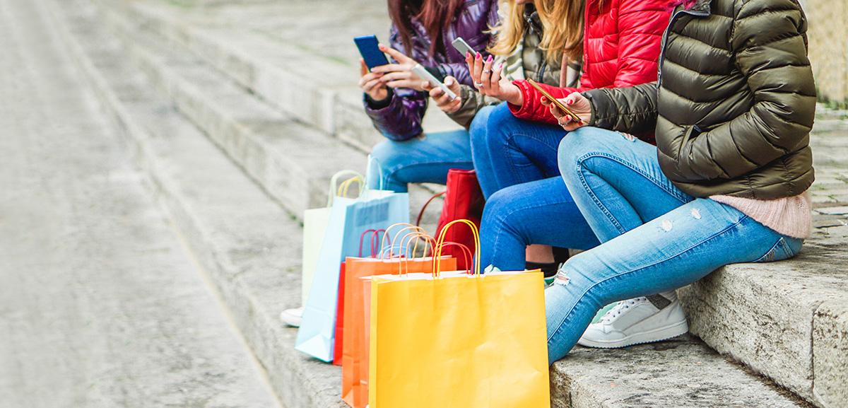 Millennials shoppen
