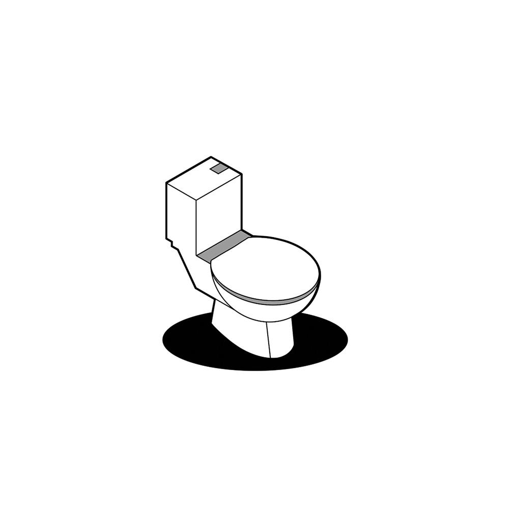 Kunden Toilette Handel