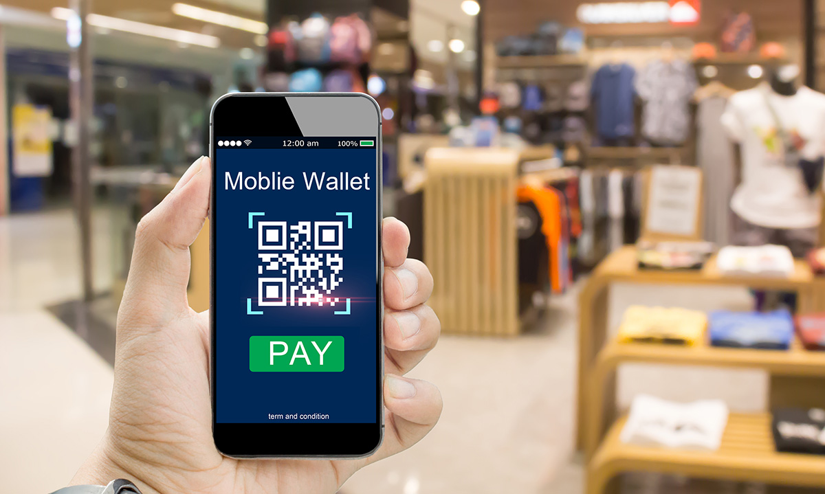 Bezahlung Smartphone QR Code