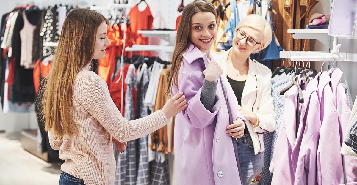 Kunden Einzelhandel Beratung