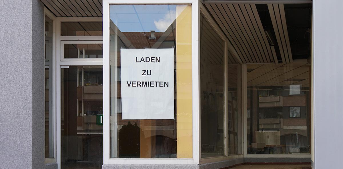 Laden anmieten Einzelhandel